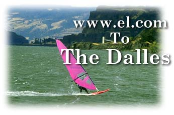 Windsurfing at The Dalles, Oregon